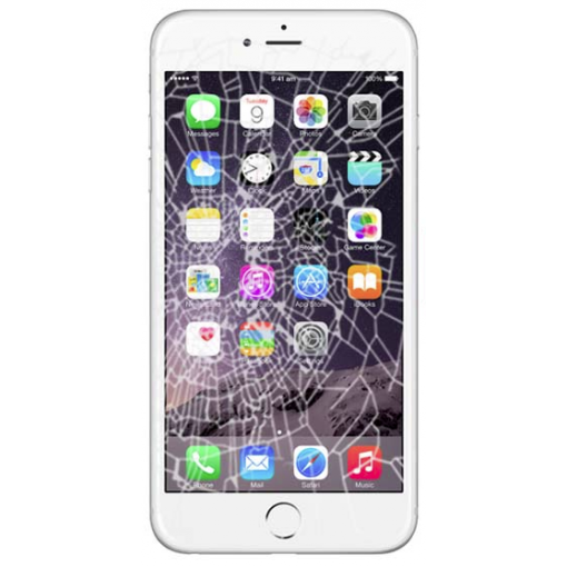 iPhone Repaired Cracked Screen